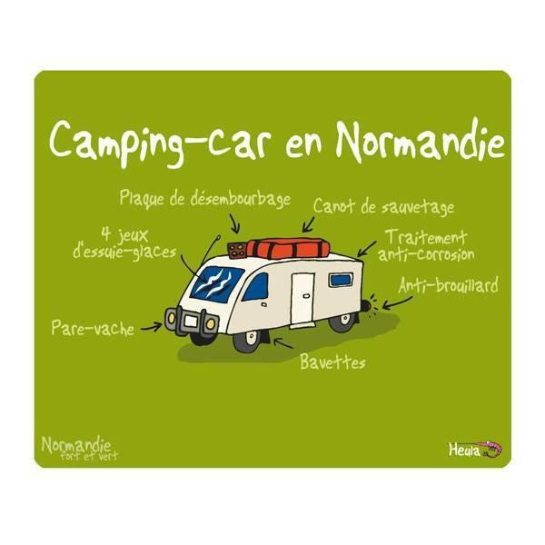 tapis de souris camping car le comptoir des normandies. Black Bedroom Furniture Sets. Home Design Ideas